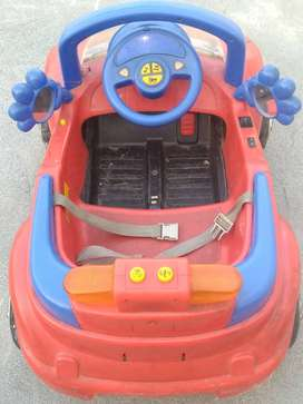Rechargeable musical car for Baby with Remote operated.