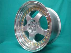 velg hsr racing ring 17 bisa jazz brio swift dll