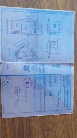Residential 147 sq yd house 100%vastu