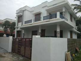 5 cent 1850 sqft  4 bhk new build house at aluva near malikampeedika