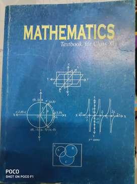 Maths Ncert class 11 book