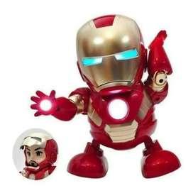 robot ironman gerak