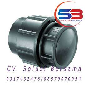 Fitting Compression HDPE End Cap Terbaru Ready Stock