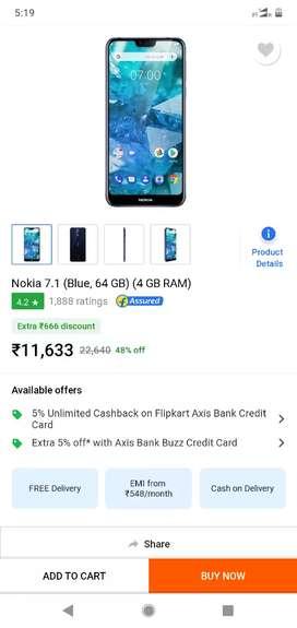 Nokia 7.1 black