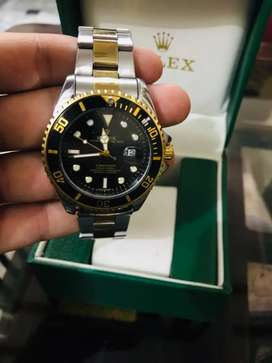 Rolex submariner  yellow gold stainless steel black116613