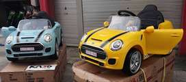 Mainan Mobil Aki Anak Mini Cooper YUKITA DLS 06