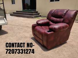 Brand New Leather Recliner Sofa, Motorized Recliner,Single Seater  CO
