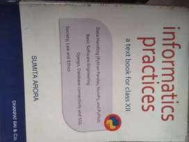 Informatics practices a textbook for class 12