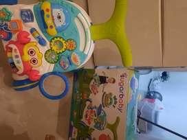 Sugarbaby Baby push walker warna hijau 10 in 1