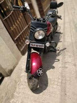 Commando bike