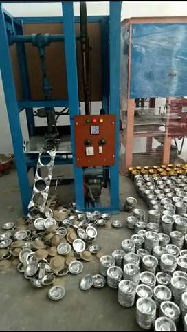Fully Automatic Paper Plate Dona Making Machine