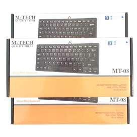 N E W M-Tech Mini Keyboard USB Sangat Cocok untuk Laptop/PC/HP