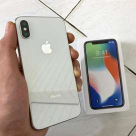 Forsale iPhone X 64gb Silver