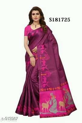 Attractive Designer Printed Women's Sarees