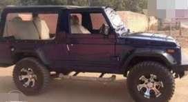 Modified mandi dubwali jeep