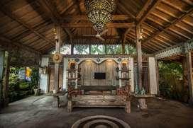 Villa di Ubud Bali tengah sawah