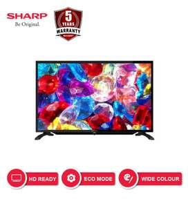 "TV LED Sharp 32"" new 2019"
