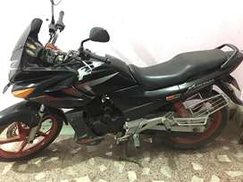 Karizma R with special edition red alloy wheel