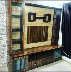 Luxury TV unit from real furniture'