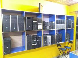 Core 2 duo Tower & Desktop machines in lowest rates