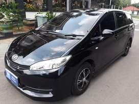 DP44Jt FullOri CBU Toyota Wish 1.8 2010/2011/2012 Tv,Dvd Mobil Langka