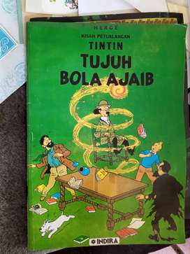 Komik Tintin by Indira - tujuh Bola ajaib