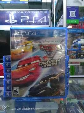 Hot Sale Kaset Game Bd Ps4 Disney Pixar Cars 3 Driven To Win