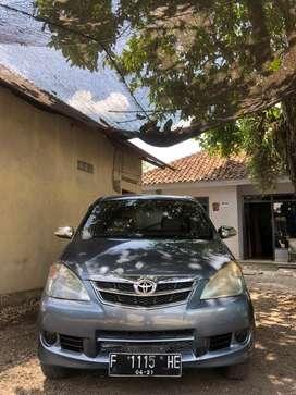 BU Avanza G 2011 Manual, mobil sehat mulus siap pakai