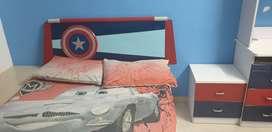 Kids complete furniture captain America theme