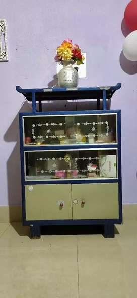 Show case with tv stand