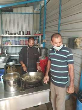 Selling a small restaurant at B Narayapura in front of HP company