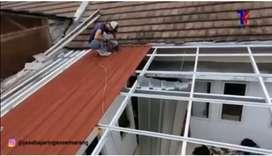 Jual atap spandek warna