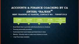 Class 11 , 12 Accounts and CA Accounts..