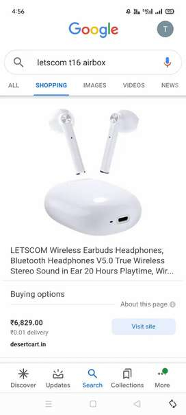 Letscom t16 airpods