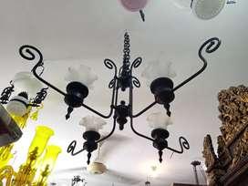 Lampu Rang-Rang Solid Brass tinggi 120cm