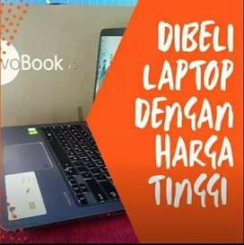 Di beli laptop Notebook Mac , dengan harga tinggi.