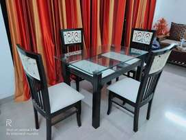 4 chair with Dinning table
