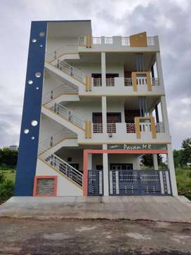 FIRST FLOOR 2 BHK FOR RENT AT KSFC LAYOUT Rent 15000.