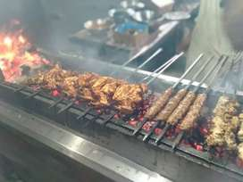 Running restaurant BBQ fast food for sale
