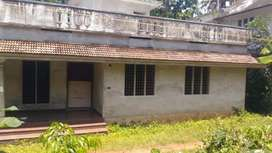 5 cent land with 1400 sqft house at kanjoor,near airport,aluva