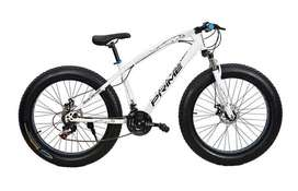 Brand New Fat Tyre Sports Cycle with shimano 21 gears