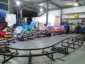 RST pancingan air fiber plat kereta panggung odong2 mini coaster IIW