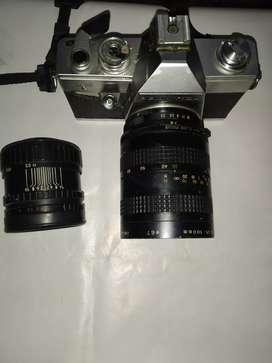 praktica Camera with extra lance.