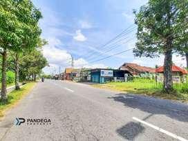 Tanah Tepi Jl Palagan Km 12 Cocok Usaha, Utara Perum Fasco Mansion