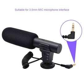 TaffSTUDIO Shotgun Microphone untuk DSLR