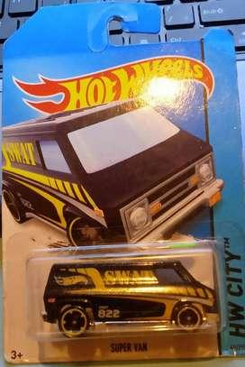 Hot Wheels Super Van SWAT