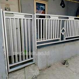 Pintu Gerbang Rumah Baja Ringan Minimalis Purworejo