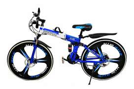 BMW FOLDABLE 21 GEARS CYCLE WITH DUAL DISC BRAKES