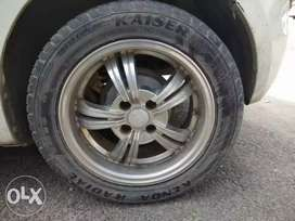 15 inches allows wheel with tyres plz read full description