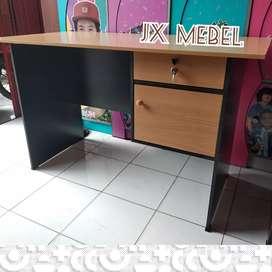 JX MEBEL# Meja Tulis Kantor Kasir Belajar Kerja 1/2 Biro Pekanbaru